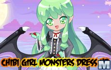Chibi Girl Monsters Dress Up