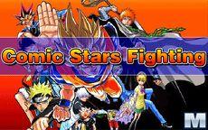 Comic Stars Fighting