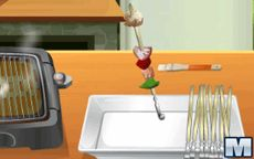 Koche mit Sara: Picknick-Bratspieße