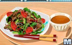 Koche mit Sara: Thai Rindfleischsalat