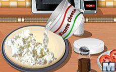 Koche mit Sara: Pizza Tricolore