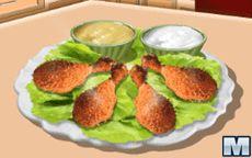 Koche mit Sara: Hähnchenschenkel