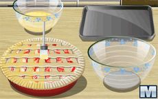 Koche mit Sara: Rhubarb Pie