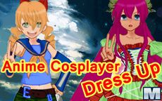 Anime Cosplayer Dress Up Game