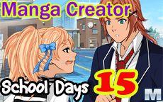 Manga Creator School Days Page 15