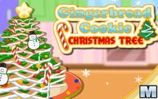 Kochen eines süßen Weihnachtsbaumes
