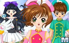 Kleide die Jägerin Sakura Cards