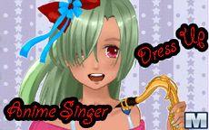 Anime Singer Dress Up
