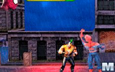 Spiderman Hero Street Fight