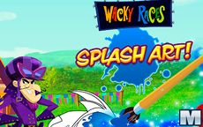 Wacky Races Splash Art
