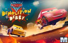 Cars 3 Demolition Derby Game