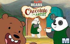 Chocolate Artist We Bare Bears