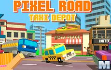 Pixel Road Taxi Deport
