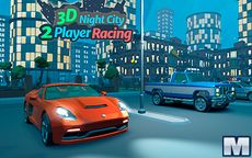 3D Night City 2 Players Racing